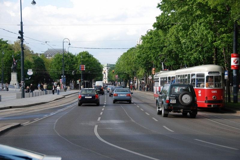 Бульварное кольцо в Вене - Рингштрассе