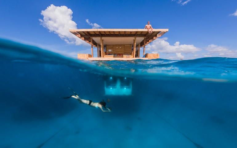 Manta Resort - подводный отель в Африке