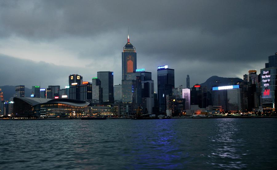 Гонконг в марте