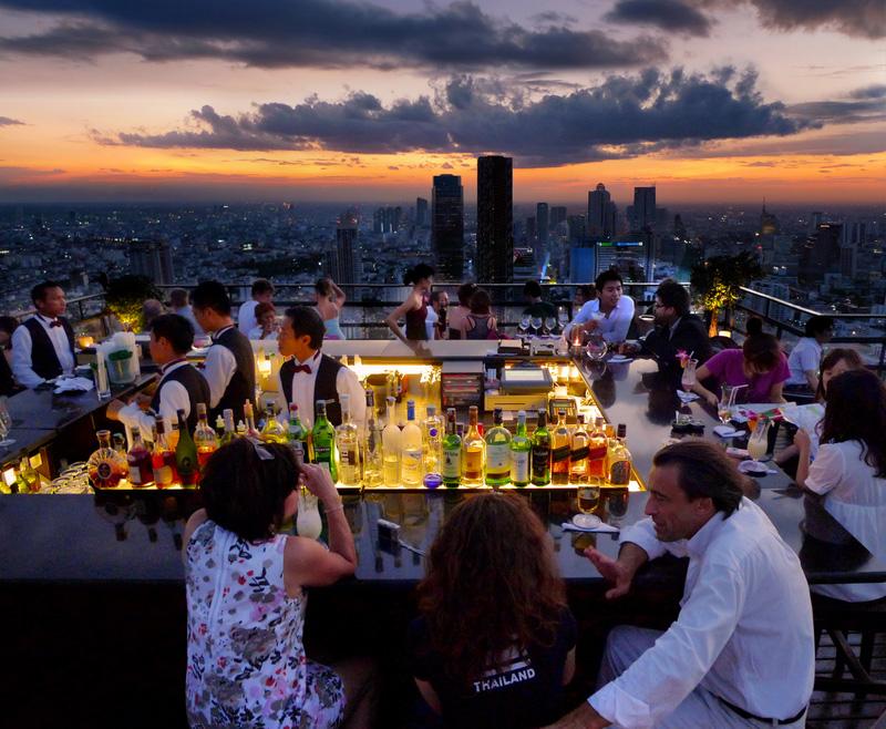 бары на крышах Бангкока