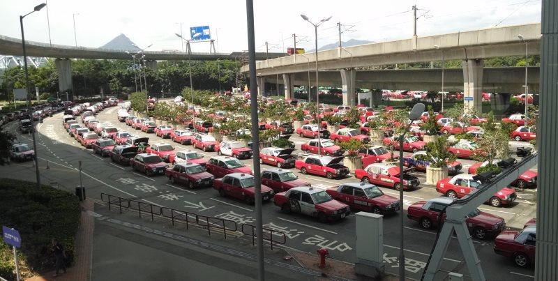 такси из аэропорта гонконга