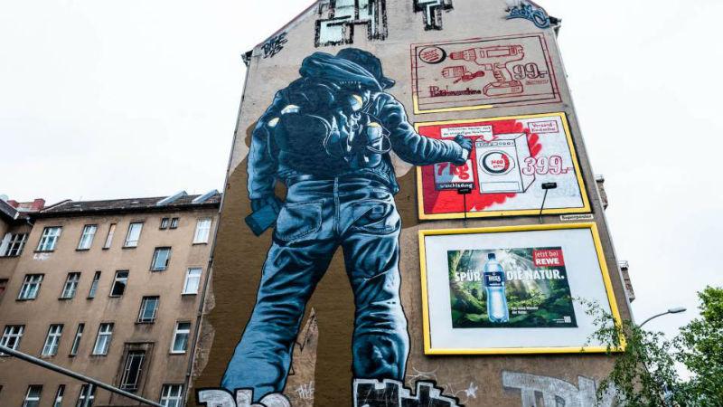 стрит арт в берлине