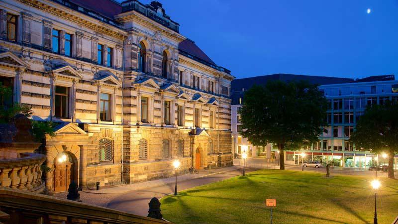 главные достопримечательности Дрездена - Альбертинум