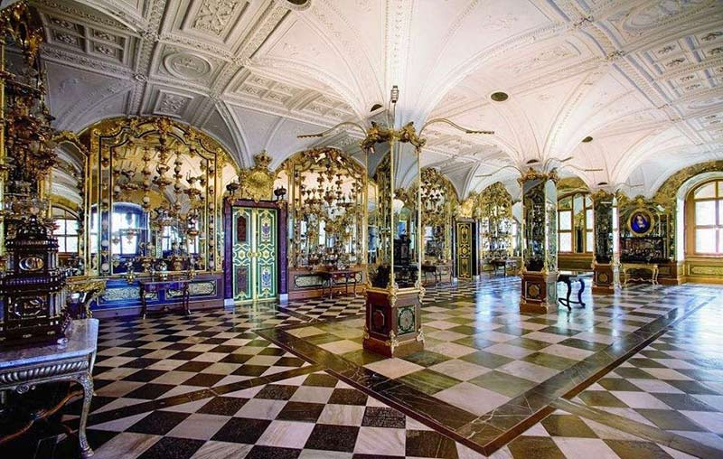 музей Зеленые своды в Дрездене