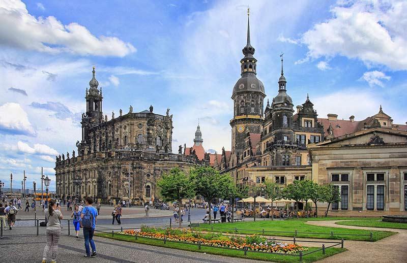 Кафедральный Собор Святой Троицы в Дрездене