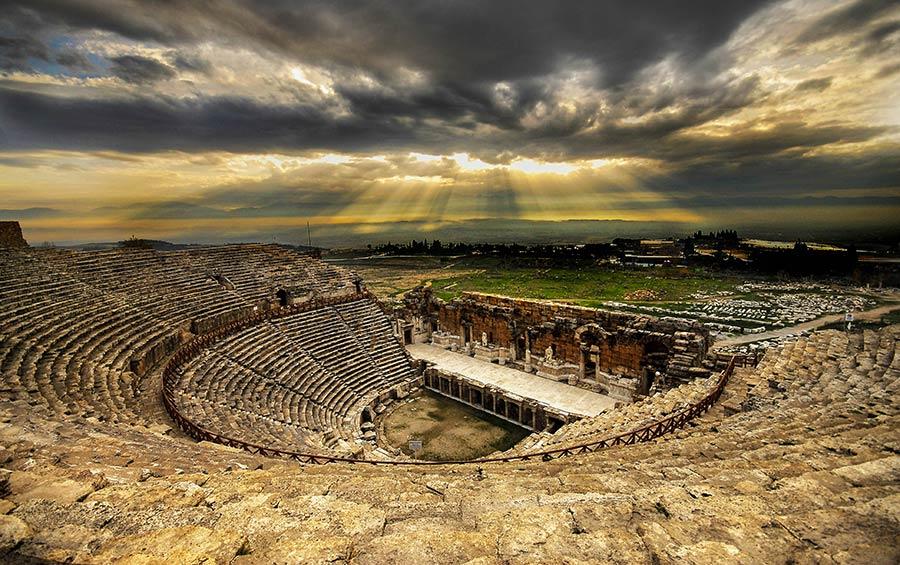 экскурсия в Памуккале, Иерополис