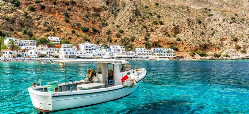 Когда лучше ехать на Крит. Погода на Крите по месяцам