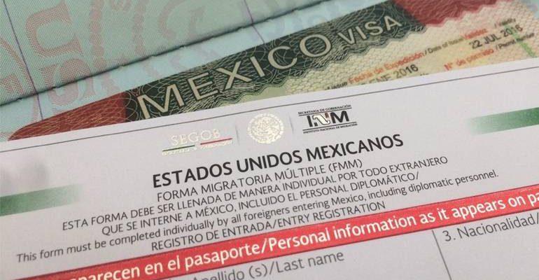 Виза в Мексику для граждан РФ